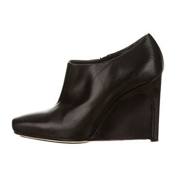 Calvin Klein Collection Wedge Booties