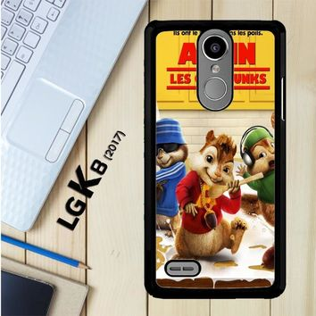 Alvin And The Chipmunks Y0710 LG K8 2017 / LG Aristo / LG Risio 2 / LG Fortune / LG Phoenix 3 Case
