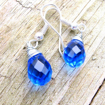 Serah's Crystal Tear and Yui's Heart Inspired Earrings