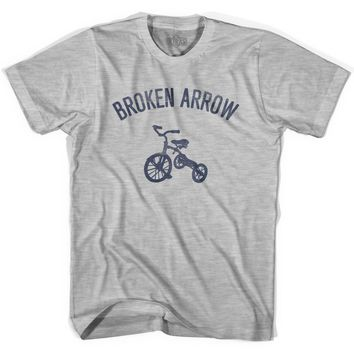 Broken Arrow City Tricycle Youth Cotton T-shirt