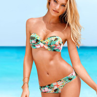 SIMPLE - Floral VS Women Two Piece Summer Swimsuit Bathing Suit Bandage Bikini Set b5250
