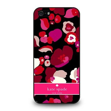 KATE SPADE NEW YORK FLORAL iPhone 5 / 5S / SE Case Cover