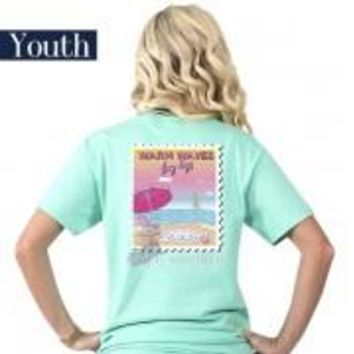 "Youth Simply Southern ""Preppy Warm"" Short Sleeve Tee"