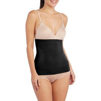 Bump Basics Post-Baby Compression Waist Shaper, Black, Small
