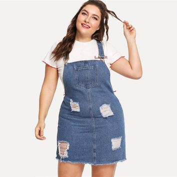 Come And Get It Denim Dress