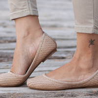 Free Shipping, Natural Woven Shoes, Vegan Leather Shoes, Loafers, Flat Shoes, Ballerina Shoes, Slip Ons, Cream Shoes