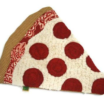 Dog Toy No Stuffing And No Squeaker   Pepperoni Pizza