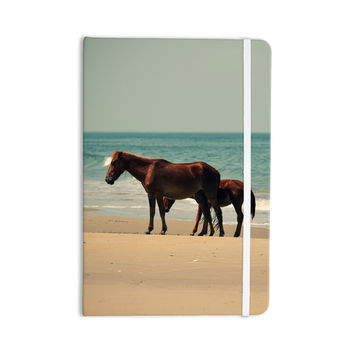 "Robin Dickinson ""Sandy Toes"" Beach Horses Everything Notebook"