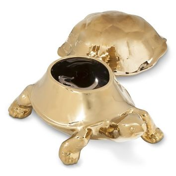 Threshold™ Ceramic Tortoise Decorative Dish - Gold