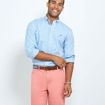 Men's Button-Down Shirts: Classic Gingham Whale Men's Shirt – Vineyard Vines
