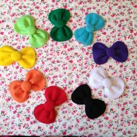Rainbow set hello kitty bows