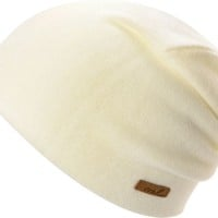 Coal Julietta White Beanie
