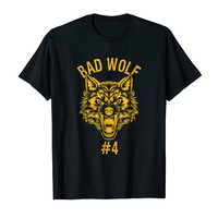 Bad Wolf Number 4 Group Halloween Costume T-shirt