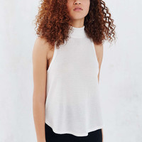Silence + Noise Ripple Mock-Neck Cami - Urban Outfitters