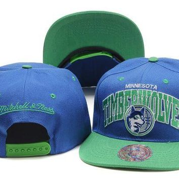 ONETOW Minnesota Timberwolves Nba Cap Snapback Hat - Ready Stock