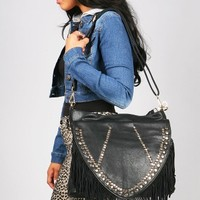 West Fringe Saddle Bag - Fringe Bags at Pinkice.com