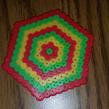 hexagonal coaster
