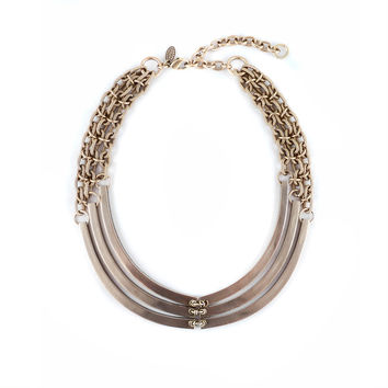 Annie Costello Brown - Bronze Rib Necklace