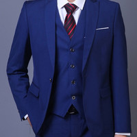 Poised Three Piece Suit