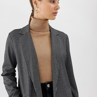 Pieces check lightweight spring coat | ASOS