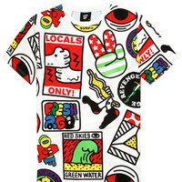 Lazy Oaf | Locals Only T-Shirt