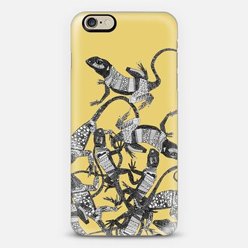 just lizards sunshine iPhone 6 case by Sharon Turner | Casetify