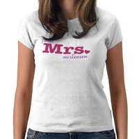Future Mrs. Customizable T-Shirt from Zazzle.com