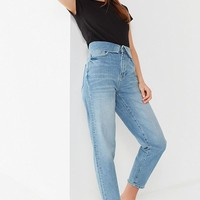 BDG Zayley Fold-Over Straight-Leg Jean | Urban Outfitters