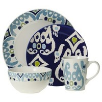 Rachael Ray 16 Piece Dinnerware Set - Blue