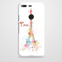 Simple Paris Design Google Pixel XL Case | casefantasy