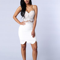 Happily Ever After Dress - White