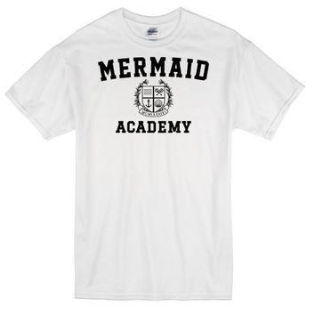 Mermaid Academy 1 Custom Men's Gildan Adult T-Shirt