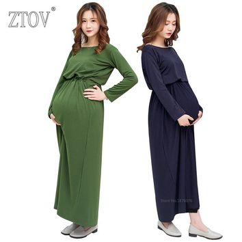 ZTOV Maternity Dress Pregnancy Photo Shoot Clothing For Pregnant women clothes Photo studio Maternity Photography Props Dresses