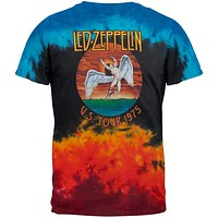 Led Zeppelin - Icarus 1975 Tie Dye T-Shirt