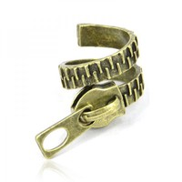 Zip Shape Ring on Luulla