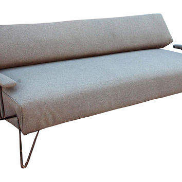 Mid-Century Modern Iron Daybed