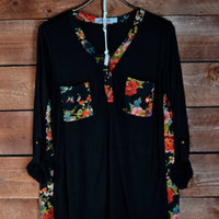 Floral Chantilly Blouse