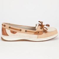 Sperry Top-Sider Angelfish Womens Boat Shoes Cream  In Sizes