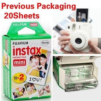 Thanksgiving Fujifilm Instax Mini Film 8 7s 25 50s 90 Polaroids 300 Instant White Edge Photo Paper Fuji Film Camera
