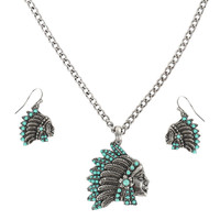 Shyanne® Women's Headdress Jewelry Set