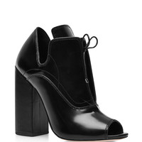 Boardwalk Leather Ankle Boots in Black