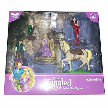disney parks tangled princess rapunzel figure cake topper playset new with box