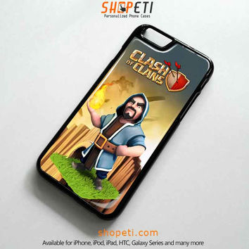 CLASH OF CLANS WIZARD Case for iPhone Galaxy HTC iPad iPod