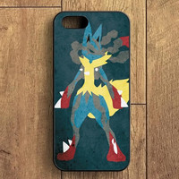 Pokemon Lucario Painting iPhone 5S Case