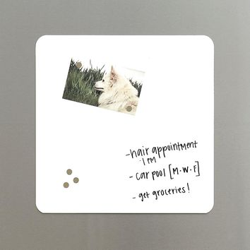 Three by Three Square Magnetic Dry Erase Board