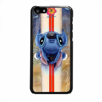 lilo and stitch waiting for the perfect wave disney iphone 5c 5 5s 4 4s 5c 6 6s plus cases