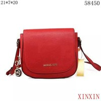 MICHAEL KORSMK Women fashion trend shopping leather bag