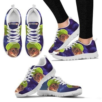 Abyssinian Cat (Halloween) Print-Running Shoes For Women/Kids-Free Shipping