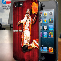 Miami Heat Dwyane Wade for iPhone 4/4S, 5/5S, and Samsung Galaxy S3/S4