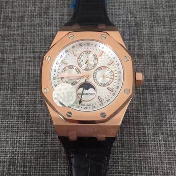cc hcxx AP multifunction automatic rose leather